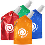 12oz Baja Water Bags With Carabiner